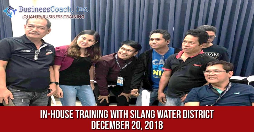 In-House Corporate Training with Silang Water District