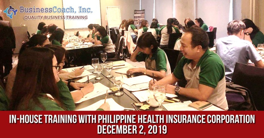 In-House Corporate Training with Philippine Health Insurance Corporation